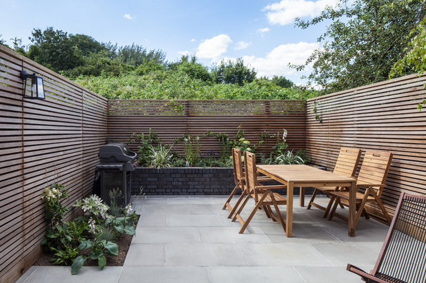 Contemporary Garden by Trevor Brown Architect