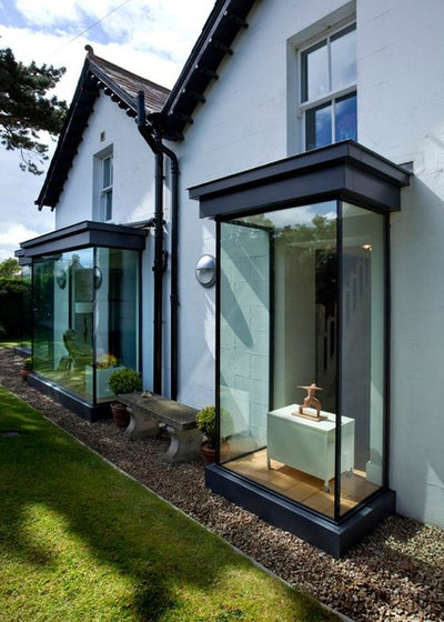 Architecture create a micro extension with a projecting window Leon house kitchen design