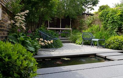 Gartenbesuch: Ein Hinterhof in London wird zur gemütlichen Oase