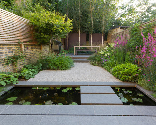 Asian landscape ideas designs remodels photos for Home garden design houzz
