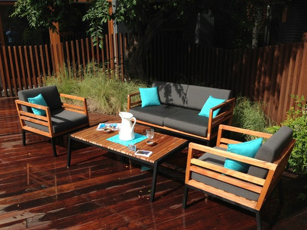 Industrial Patio by Paul Pritchard Landscapes