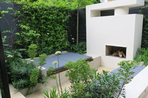 Современный Сад by Charlotte  Rowe Garden Design
