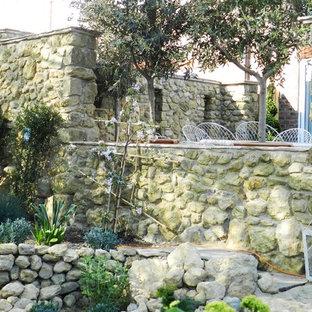 Giardino Mediterraneo Sussex Foto Idee Per Arredare E