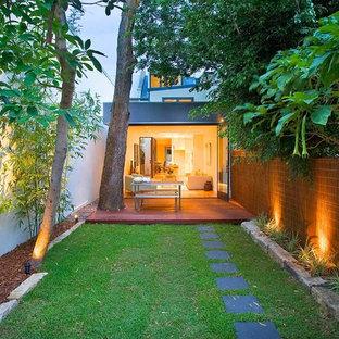 Simple Backyard Landscape Houzz