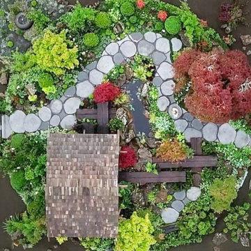 Jules Zen Garden 2018 GOLD, Best in Show NZ Flower & Garden Show