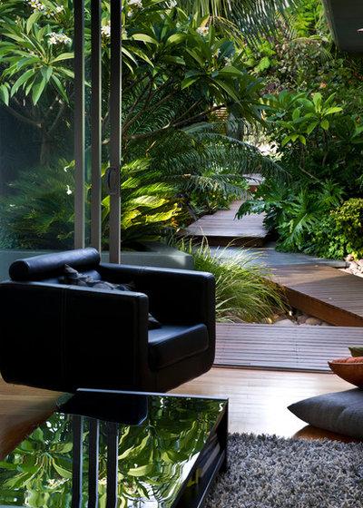 Contemporain Jardin by Cultivart Landscape Design