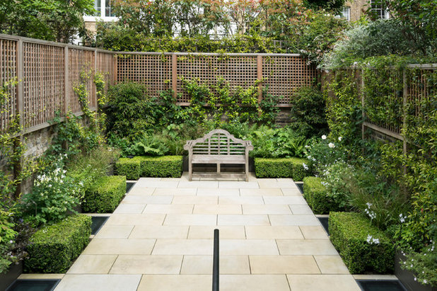American Traditional Garden by Broseley London
