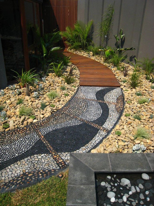 Best Mosaic Walkway Design Ideas & Remodel Pictures | Houzz
