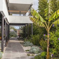 Midcentury Landscape by DE atelier Architects