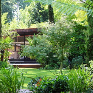 75 Beautiful Tropical Backyard Landscaping Pictures Ideas March 2021 Houzz
