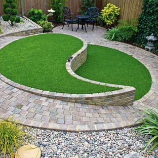 Design ideas for a contemporary landscaping in West Midlands.