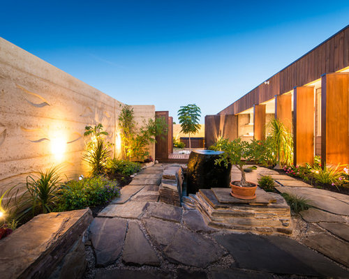 Contemporary adelaide outdoor design ideas renovations for Courtyard landscaping adelaide