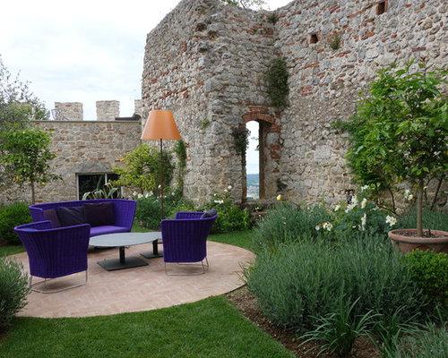 Foto e idee per esterni esterni mediterranei for Progetto giardino mediterraneo