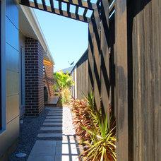 Contemporary Landscape by Tempus Design Studio Pty Ltd