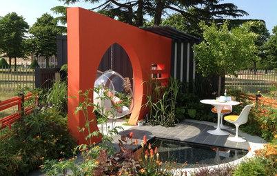 Фотоохота: Подвесное кресло в саду — 18 идей