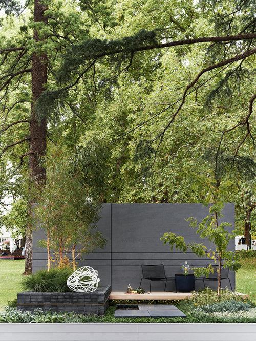 Courtyard garden design ideas renovations photos for Courtyard landscaping melbourne