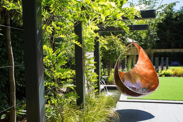 Модернизм Сад by Barnes Walker Ltd - Landscape Architects