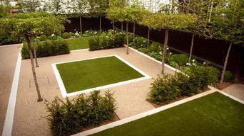 Modern Garden & Driveway in Cheltenham