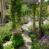 Patio of the Week: Planted Terraces Remake a Sloped Yard