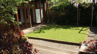 Modern Manchester Low Maintenance Garden