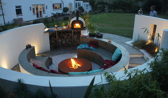 Moroccan inspired Garden with Jamie Oliver Pizza Oven area