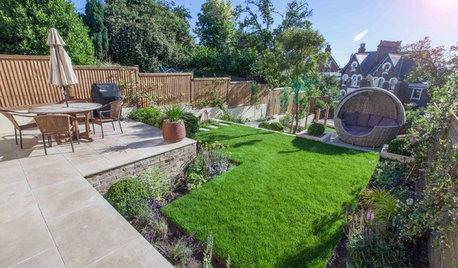 Avant/Après : Un jardin en pente inutilisé revit pour une famille