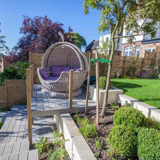 Immagine di un giardino minimal
