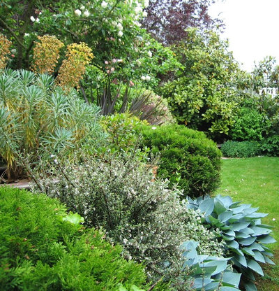 Traditional Garden by Silva Landscapes