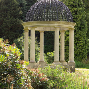 Inspiration for a traditional landscaping in Cheshire.