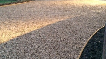 New driveway with Cotswold chippings
