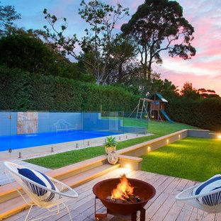 Design ideas for a contemporary garden in Sydney.