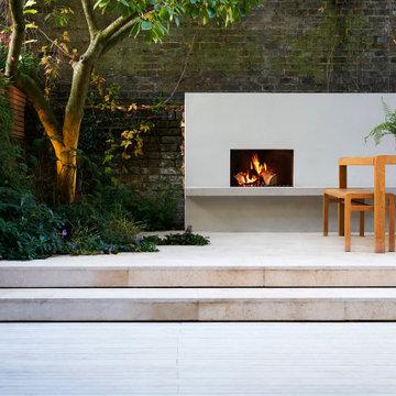 North London Contemporary Courtyard Garden
