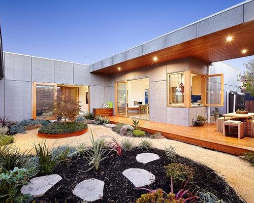 75 Australia Courtyard Garden Design Ideas Stylish Australia
