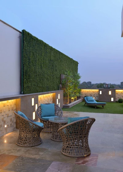 Contemporary Garden by SPACES ARCHITECTS@ka