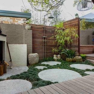 Asian partial sun garden.