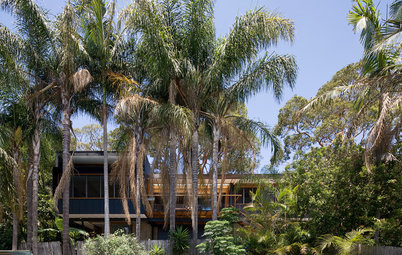 Houzz Tour: Living in the Treetops in Freshwater