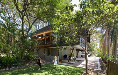 Houzz Tour: Modern Treetop Living in Sydney