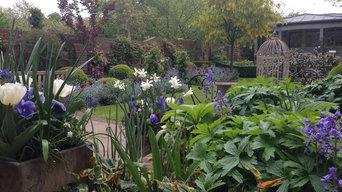 Private garden, Hampstead