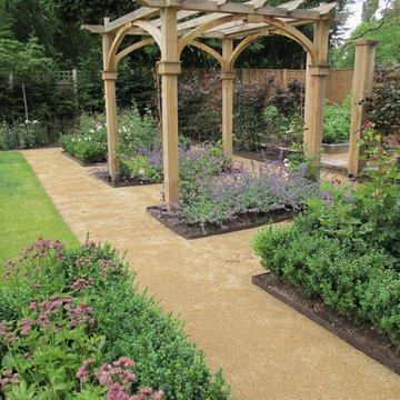 Private garden, Staffordshire.