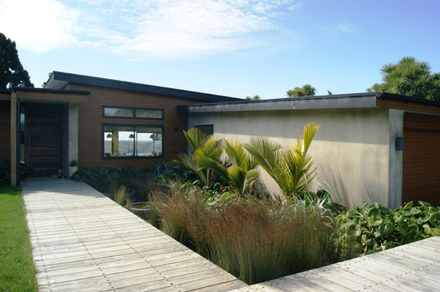 Contemporary Garden by For the Love of Landscape