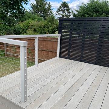Raised Millboard Composite Decking in Windsor