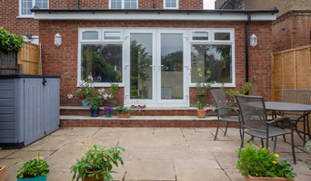 Rear extension. Patio