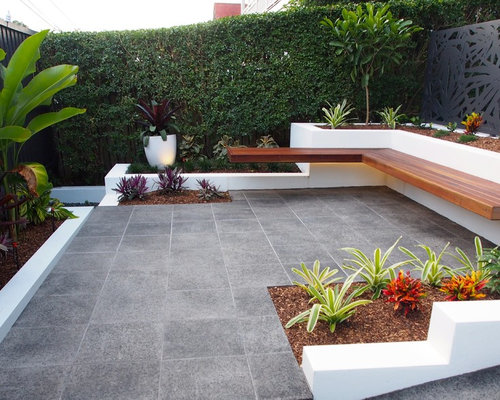 10 best modern landscaping ideas designs houzz for Courtyard landscaping brisbane