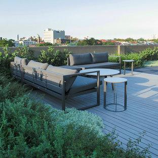 Jardin sur toit de taille moyenne : Photos et idées déco de ...
