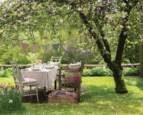 Fotos de jardines   Diseños de jardines románticos