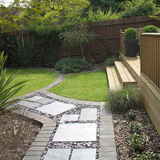 Design Ideas For A Small Garden In Surrey.