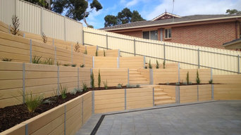 Sleeper Retaining Walls