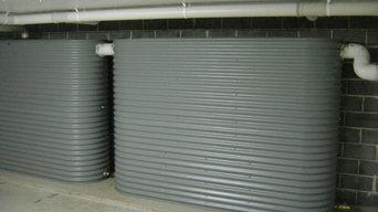 Slimline Aquaplate Steel Tanks