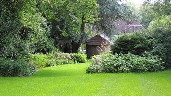 Sloping Garden Design