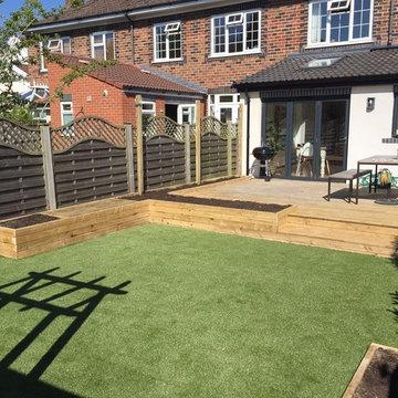 Small Family Garden, Westbury on Trym, Bristol